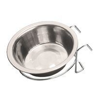 Wholesale Hanging Pet Feeders - Wholesale-JinPet Pet Stainless Steel Cage Hanging Bowl