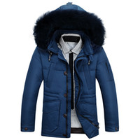 Wholesale Winter Clearance Down Coats Men - Fall-2015 new men plus size parkas male jacket winter Clearance in the men's clothing long down coat