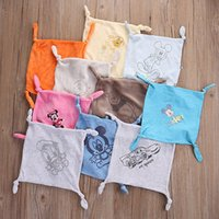 Wholesale Boy Comforters - Wholesale- Random Delivery Infant Baby Girl Boy Blanket Comforter Comfort Gift Hand Face Towels Soft Toys