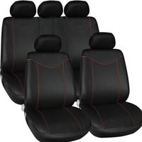 Wholesale Cushion Seat Bag - Universal Car Cover Auto Interior Accessories Styling 9PCS ste Car Seat Cover Cushion Supply Anti Mud Storage Bag Seat Support K1761