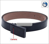 Wholesale Dvr Belt - Hot Selling Belt Buckle Hidden spy Camera, Belt DVR Camcorder,Pinhole Covert Camera hidden camera Leather belt spy camera