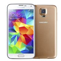 Wholesale android s5 - Refurbished Original Samsung Galaxy S5 i9600 G900F G900V G900A G900T G900P With Original Battery Quad Core 2GB 16GB 4G LTE US EU Unlocked