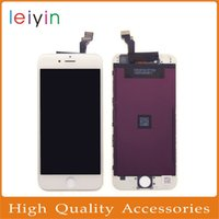 Wholesale Iphone Lcd Assembly Original - Top Quality iphone6 4.7inch No Dead Pixels Original LCD Display Touch Digitizer Screen with Frame Full Assembly Replacement Part