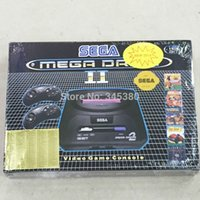 Wholesale Game Driving - NEW2016 16bit sega console video game player for MD2 console cartridges built in 5 games with EU power adapter mega drive