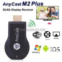 varas de androids de tv venda por atacado-AnyCast M2 Além disso iPush Mini Display WiFi Dongle Receptor 1080 P Airmirror DLNA Airplay Miracast Fácil Compartilhamento HDMI Android TV Vara para HDTV