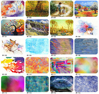 Wholesale Notebook Pvc Skin - Christmas Eve Christmas Day Creative gifts Computer Accessories Skin Protectors macbook Notebook film pvc colourful 10lot drop shipping