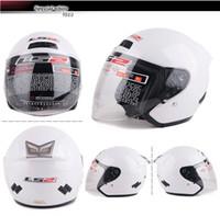 Wholesale Ls2 Helmet Open Face - DOT Ls2 OF508 Jet Helmets Motorcycle Open Face Helmet Man&Female Urban Moto Casco