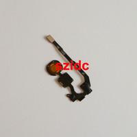 oem elma düğmesi toptan satış-OEM Yeni Ev Düğme Anahtarı Flex Kablo Yedek Parça Tamir iPhone 5 S için Toptan 100 adet / grup