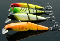 Wholesale muskie lures for sale - Group buy Mutil section bait Diving Lures bass lures colors CM G Fishing Lures Bass Bait Crank Shad Herring Bass Pike Muskie lure