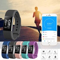 Wholesale Style Rates - F2 Heart Rate Monitor Smart Wristband bracelet Waterproof blood pressure Tracker Smart Band for Android iOS For Fitbit Charge 2 Style OTH585