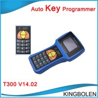 Wholesale Transponder Key For Mitsubishi - 2017 Newest V16.6 T-code T300 AUTOMAN Key Programmer T300 Auto Key maker Spanish English T300 transponder key programmer free shipping