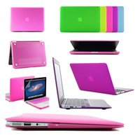 """Wholesale Macbook Air 13 Cases - For Apple Macbook Air 11"""" 13"""" Pro 13"""" 15"""" Pro With Retina 12'' 13"""" 15"""" Frosted Surface Matte Hard Cover Case"""