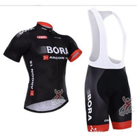 Wholesale Black Cycling Kits - Top Sales Cycling Jersey Ropa Ciclismo factory Short Sleeve Bicycle Jersey and Cycling (Bib) Shorts Kit Summer Cycling Clothing B18-1