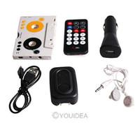 Wholesale Cassette Mp3 Sd - 1set Car Music MP3 Player Tape Cassette Adapter for SD MMC Reader 81769