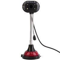 Wholesale Driver For Pc Camera - Wholesale-USB 2.0 Webcam Camera HD Webcam with Microphone For PC Laptop Free Driver