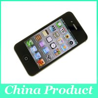 "Wholesale iphone phone only - Original 3.5"" inch Apple iPhone 4S Unlocked Cell Phones 16GB Dual Core IOS WCDMA 3G Phone Refurbished only phone"