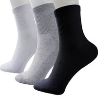 Wholesale Wholesale Knitting Socks - Hot Sale Fashion Summer Style NEW Men Guy Cosy mix Cotton Sport Socks Black White Gray Colors High Quality Popular Breathable mesh design