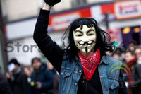Wholesale Cool Halloween Costumes For Guys - guy fawkes V for vendetta anonymous collectable Adult masks hot halloween cosplay costumes Masquerade cool