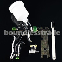 Wholesale OPHIR Brand Mini DETAIL TOUCH UP HVLP SPRAY GUN Auto Car Paint Spot Repair with Plastic Cup Sprayer_AC046 mm