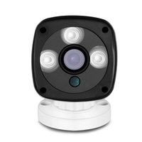 Detecção de movimento Plástico 720P CMOS ONVIF 2.0 H.264 3pcs matriz Câmara 802.11 / b / g Night Vision 1MP WIFI Outdoor Wireless Security