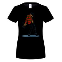 FREDDY CAN DANCE Michael Jackson Funny Design Mens T Shirt manica corta Top O-Collo Tee woMen Cool Hipster Top Tee Shirts 6XL