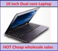 Wholesale Cheap Pink Notebook Computer - Cheap sales 1pcs Students with Laptop VIA Google Android 4.2 8880 dual core Computer Notebook 10.1 inch Netbook 1 gb 8 gb wifi