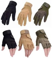 Wholesale Motor Bike Racing Gloves - Wholesale-Hot sale tactical gloves outdoor sports gloves bicycle antiskid sports motor bike men's racing gloves