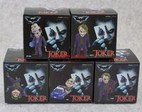 batman telefon askısı toptan satış-5 adet / takım DC Comics Batman The Dark Knight Joker Mini telefon Sapanlar charm PVC Rakamlar Koleksiyon Oyuncak Modeli Bebek