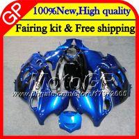 Wholesale dark blue katana - Bodys For SUZUKI KATANA GSXF 600 750 GSXF750 03 04 05 06 07 22GP9 GSX600F GSXF600 2003 2004 2005 2006 2007 Factory blue Motorcycle Fairing