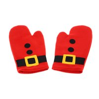 Wholesale Oven Design - 3PCS Cooking Baking Gloves for Christmas Christmas Design Kitchen Supplies Microwave Oven Mitts Gloves with Heat-proof Pot Pad