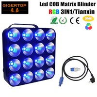 Nuovo design LED 16x30w Matrix Blinder Light RGB 3IN1 Color DMX Control Stage Light Great Washing Effect