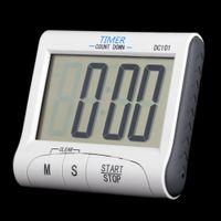 Wholesale Count Down Timer Clock - LCD Digital Kitchen Timer Countdown Cooking Timer Count Down Alarm Clock