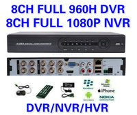 Wholesale Stand Dvr Full - New ! 8CH H.264 1080P HDMI network Cloud 8 Channel Full 960H cctv dvr Stand Alone recorder Support Moblie view