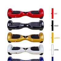 Wholesale Two Wheel Balance Boards - 6.5 inch tire 2 rubber wheels self balance hoverboard electric skateboard stand up kick scooter Kick transporter hover board