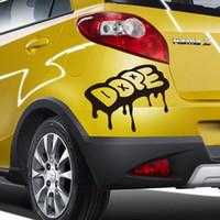 autocollants de camion gratuits achat en gros de-2016 nouveau Cool Drip Dope Graffiti Style Vinyle Voitures Camions Course De Voiture Stickers Autocollants livraison gratuite