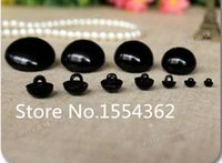 Wholesale Hand Sewing Toys - Wholesale-Free shipping!!! 100piece 25mm DIY Doll Accessories Toy eyes Hand sewing black eyes