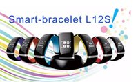 2016 L12S L12 OLED Touch Screen Bluetooth 3.0 Armband Armbanduhr Smart Uhr für IOS und Android Telefon Anruf Antwort SMS Free DHL