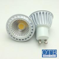 ligar controle de iluminação venda por atacado-Ordem para comprar 5 W COB LED Spot Light LED Downlight Lâmpada AC 220 V 240 V GU10 MR16 Alto brilho