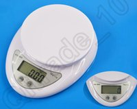 Wholesale Electronic 5kg - 120pcs HHA507 5000g 5kg x 1g B05 Digital Electronic Kitchen Weighing Scale Diet Food Balance Hot Sell