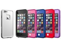 """Wholesale Apple Snow - AAA++ quality Waterproof Shockproof Snowproof Dirt Snow Proof Case For Iphone 6 6S 4.7"""" i6 Cases with Retail Package"""
