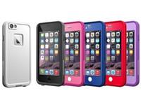 """telefono real al por mayor-Caso a prueba de nieve de alta calidad a prueba de agua a prueba de nieve a prueba de nieve de la suciedad para iphone 6 6s 4.7 """"i6 casos con paquete al por menor"""