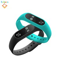 Wholesale Shenzhen Android - Y2 Smart Hand Band Bracelet Wristbands Bluetooth Wearable Pedometer Passometer Heart Rate Monitor Sleep Fitness Tracker From Shenzhen