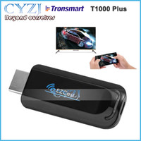ezcast dlna dongle оптовых-Tronsmart T1000 Plus Ezcast Dongle AM8251 128MB 802.11 AC 5G Wifi & USB power HDMI OTA Mirror2TV Miracast DLNA Airplay