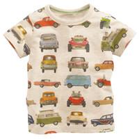Wholesale Wholesale Western Wear Clothing - 2016 Bobo Choses Children Clothing Dinosaur The Summer Wear Western Style Brand Children's T-shirt Selling Cotton Tee Shirt Boy