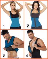 Wholesale Gym Corset - Hot Women Ultra Sweat Neoprene Compression Corset Sportswear Waist Trainers Reversible Sweater Enhancing Gym Fitness Shaper Plus size 800