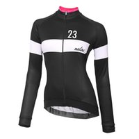 Wholesale Sports Wear Autumn Women - Hot sale 2015 New women Spring Autumn Ropa cycling clothing Pro Team cycling sports wear cycling Long Sleeve jersey outdoor ciclismo outfits
