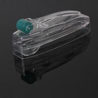 Wholesale dermaroller system resale online - 192 pins Dermaroller System with titanium needle micro needle skin roller pen acne removal