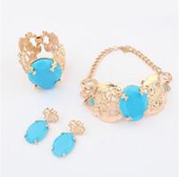 Wholesale Anna Russo - Wholesale-Anna dello russo blue rhinestone snake necklace