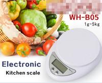 Wholesale Brand Diet - 1Pcs 5kg 5000g 1g Weight Balance Digital Kitchen Food Diet Postal Scale Brand New