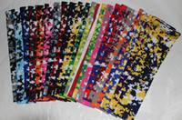 Wholesale Cheap Arm Tattoos - 138 colors new digital camo sleeve Cheap Price Temporary Tattoo Sticker For Beautifying Your Body 7 sizes in stock